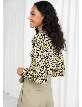 Floral Button Up Blouse by & Other Stories