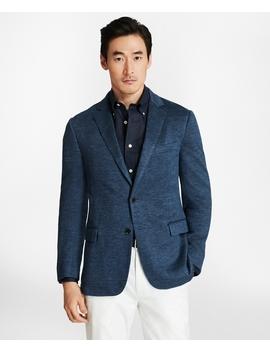 Regent Fit Linen Knit Sport Coat by Brooks Brothers