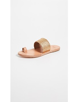 Dove Braid Toe Ring Sandals by Beek
