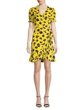 Floral A Line Dress by Diane Von Furstenberg
