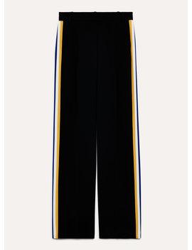 Pantalon Sadiki   High Waisted, Wide Leg Dress Pant by Babaton