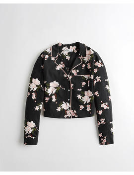 Floral Rayon Shirt by Hollister