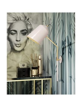 Myers 1 Light Plug In Armed Sconce by Mercer41