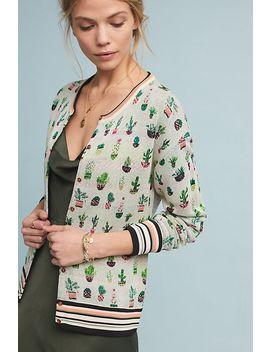 Cactus Knit Cardigan by Aldomartins