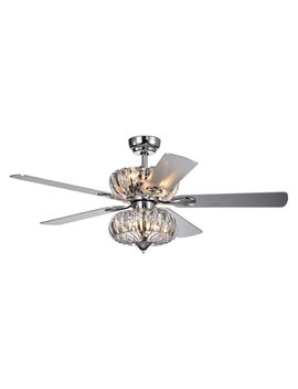 Warehouse Of Tiffany Kyana 52 Indoor Ceiling Fan With Light by Warehouse Of Tiffany