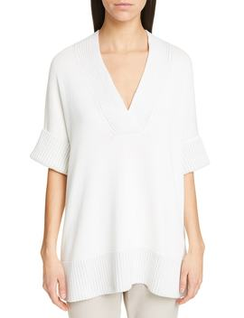 Relaxed V Neck Sweater by Lafayette 148 New York