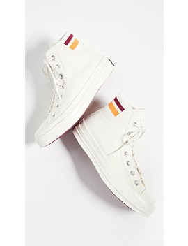 Chuck 70 Retro Stripe High Top Sneakers by Converse