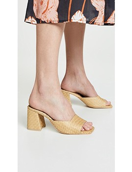 Melange 2 Block Heel Slides by Jeffrey Campbell