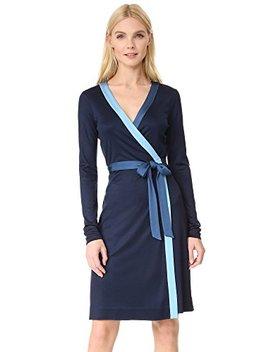 Diane Von Furstenberg Women's Long Taped Wrap Dress by Diane Von Furstenberg