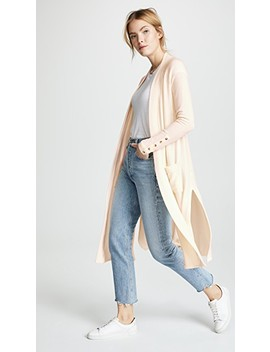 Long Brushed Cardigan by Three Dots