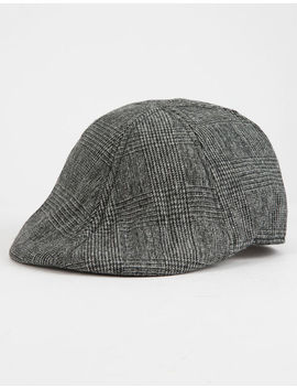 David And Young Herringbone Mens Driver Cap by Tilly's