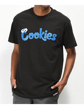 Cookies Monsters Black T Shirt by Cookies