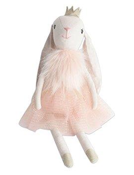 "Mon Ami Princess Bunny Designer Plush Doll, Pink, 18"" by Mon Ami"