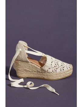 Anthropologie Emmylou Wedge Espadrilles by Anthropologie