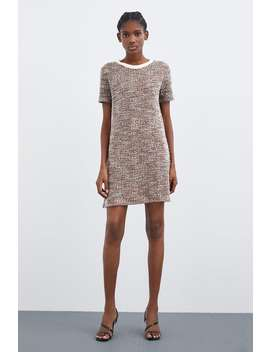 Faux Pearl Jacquard Dress  Dressestrf by Zara