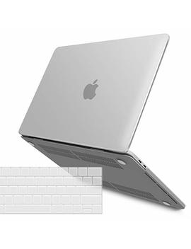 I Benzer Mac Book Pro 13 Inch Case 2018 2017 2016 Release A1989 A1706 A1708, Soft Touch Hard Case Shell Cover For Apple Mac Book Pro 13.3 With/Without Touch Bar, Frost Clear,Mmp13 T Cl+1 A by Ibenzer