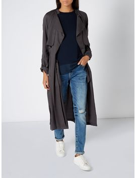 Wynn Tie Waist Duster Coat by Label Lab