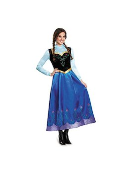 Disguise Women's Anna Traveling Prestige Adult Costume by Disguise