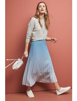 Ombre Pleated Skirt by Just Female