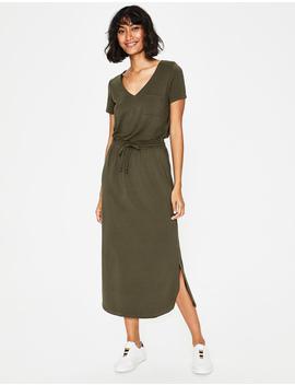 Lola Jersey Midi Dress by Boden