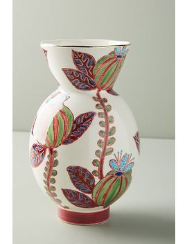 Painted Elza Vase by Anthropologie