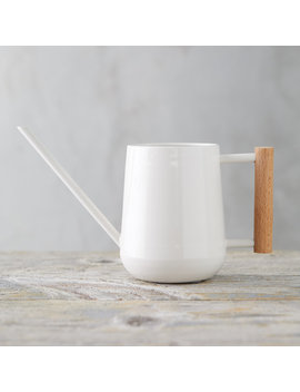 Beech Wood Handle Watering Can by Terrain