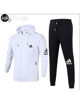 New Men's Zipper Sport Suits Jackets+Pants Tracksuits by I Offer