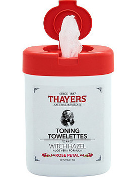 Rose Petal Toning Towelettes by Thayers