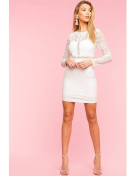 Hailey Lace Bodycon Dress by A'gaci