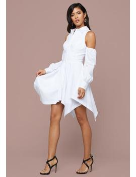 Poppy Cold Shoulder Dress by Bebe