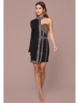 Beaded Corset Dress by Bebe