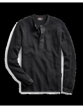 Cotton Linen Henley Sweater by Ralph Lauren