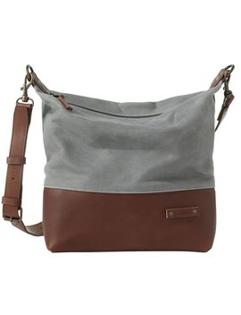 Waxed Canvas Crossbody by L.L.Bean