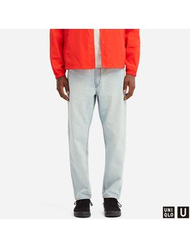 U Wide Fit Tapered Jeans by Uniqlo