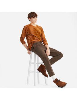 Ezy Ankle Length Pants(Cotton) by Uniqlo