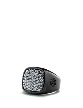 'pavé' Ring With Precious Stones by David Yurman