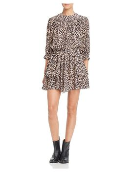 Rooka Leopard Print Dress by Zadig & Voltaire