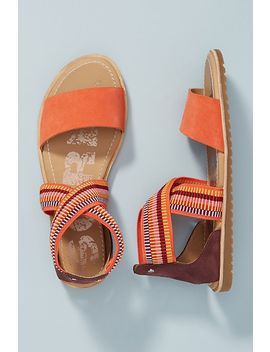 Sorel Orange Strappy Sport Sandals by Sorel