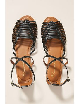 Anthropologie Edie Woven Sandals by Anthropologie