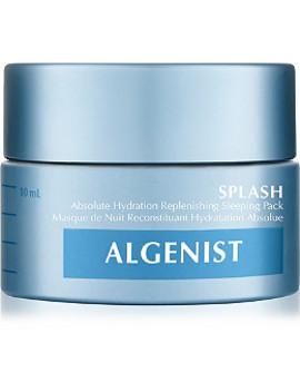 Travel Size Splash Absolute Hydration Replenishing Sleeping Pack by Algenist