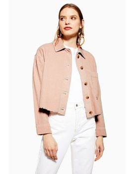 Corduroy Shacket by Topshop