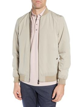 Len Slim Fit Bomber Jacket by Ted Baker London