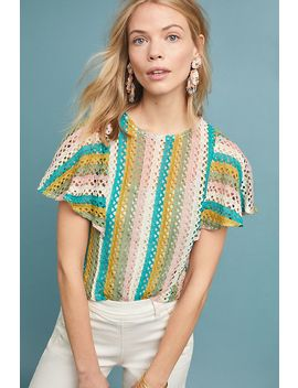 Candy Striped Top by Eva Franco