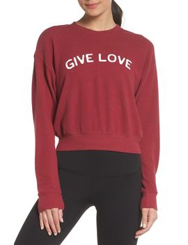 Malibu Give Love Crewneck Sweatshirt by Spiritual Gangster