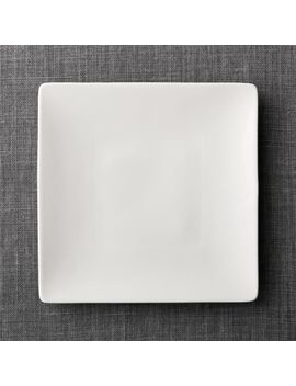 Bennett Square Dinner Plate by Crate&Barrel
