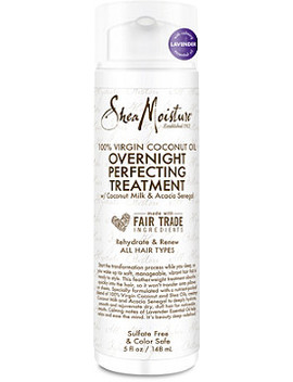 100 Percents Virgin Coconut Oil Overnight Perfecting Treatment by Shea Moisture
