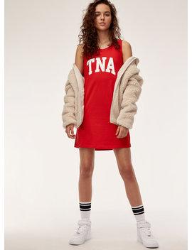Pandora Dress   Printed, Cotton Tank Dress by Tna