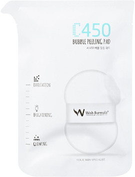 Online Only C450 Bubble Peeling Pad For Body by Wish Formula