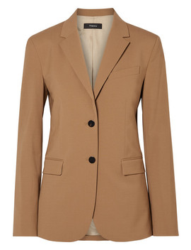 Classic Wool Blend Blazer by Theory