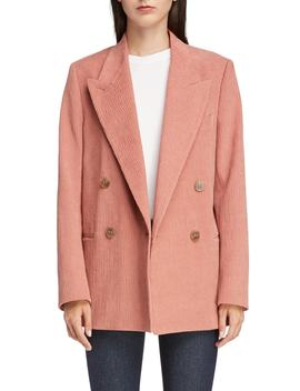 Corduroy Double Breasted Blazer by Acne Studios